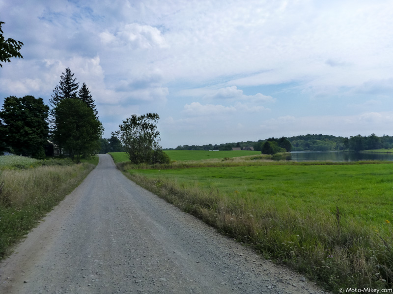 GPS routed me down some dirt roads..was unexpected but nice