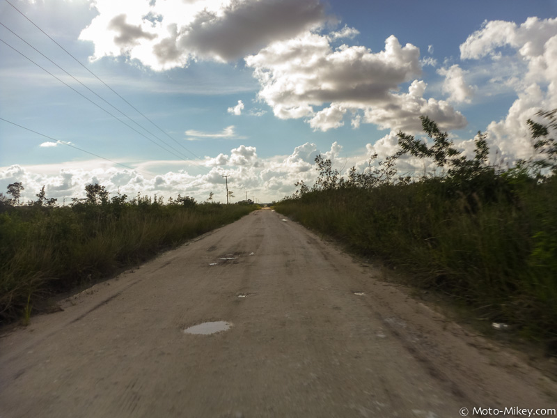 All dirt roads (and muddy when wet!) in Crooked Tree
